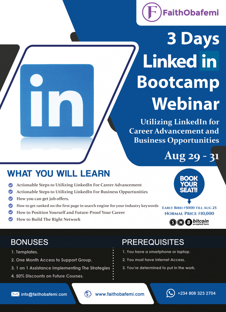 3-Days-LinkedIn-Bootcamp-FAITH-OBAFEMI